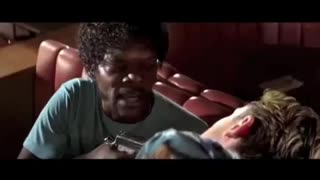 Samuel L Jackson having a bad day
