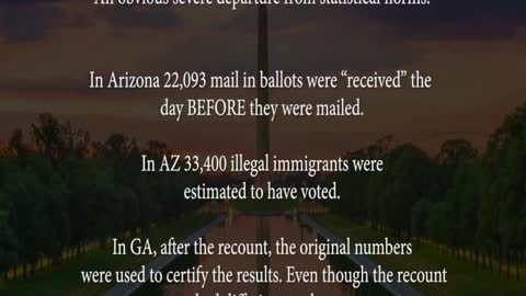 Election 2020- The Scam & Theft Revealed