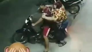 warrior motorcycle hahaha