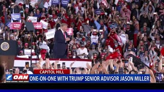 One-on-One with Trump senior adviser Jason Miller