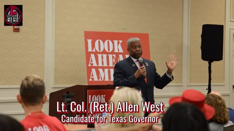"""Citizen Media News - Texas Candidate for Governor Speaks at """"Look Ahead America"""" event at CPAC Texas"""