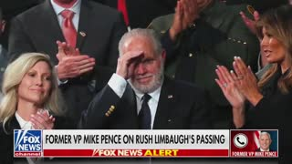 Former Vice President Mike Pence Discusses Rush Limbaugh Part 2