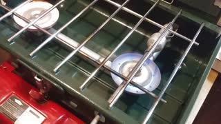 Coleman 2 burner camp stove