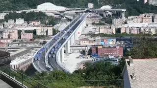 Nuevo puente de Génova se inaugurará a primeros de agosto