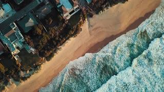 Nature Beach Ocean Waves 4k Video
