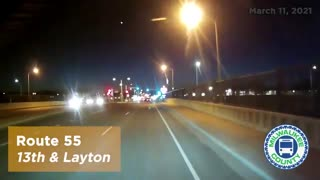 Meteor caught on video in Milwaukee County
