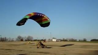 Powered Parachute Short Take Off