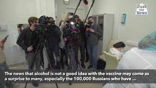 Russia warns no alcohol consumption for two months after receiving vaccine