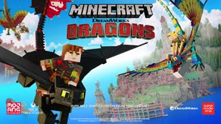 Minecraft Dreamworks How to Train Your Dragon