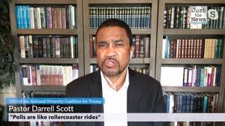 "Pastor Darrell Scott - polls are like rollercoaster rides"""