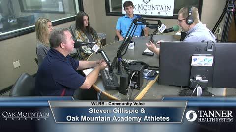 Community Voice 9/1/21 - Steven Gillispie & Oak Mountain Academy Athletes