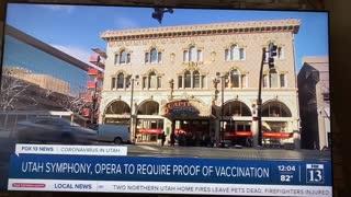 Utah Opera requiring Vaccine Passport