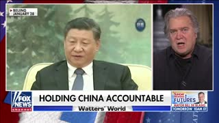 Steve Bannon talks about Communist Party of China
