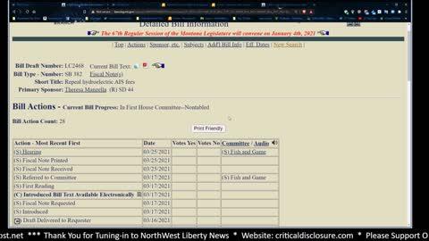 Montana Gazette Radio - The Internet Censorship Bill is Back