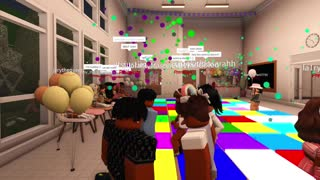 ELEMENTARY ROBLOX SCHOOL DANCE (Roblox Roleplay)