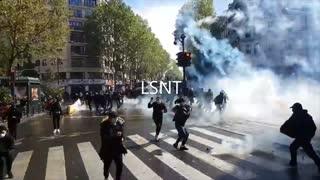 PROTEST! Paris Today 15/05/2021 Chaos Erupts!