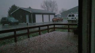Indiana hail storm