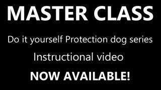 SECRETS of training Elite Protection Dogs Instructional