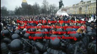 Psyop CIA Asset Navalny prior to Biden's Inauguration! For Neocons Regime change in Russia!