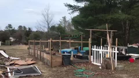 Starting irrigation
