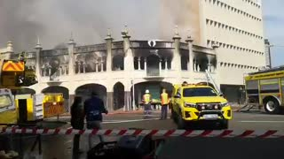 Durban building fire