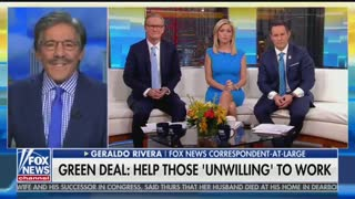 Geraldo gives positive review on Ocasio Cortez's Green New Deal