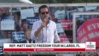 Matt Gaetz Freedom Tour Speech in Florida