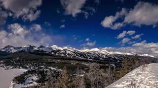 Boreas Pass Road Winter Timelapse