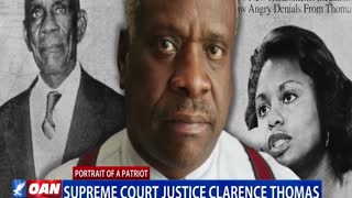 PORTRAIT OF A PATRIOT: Supreme Court Justice Clarence Thomas