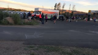 2015 Bear Chase Trail Race Half Marathon Finish
