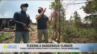 CBS Blames Climate Change For Biden's Border Crisis