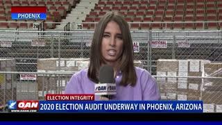2020 election audit underway in Phoenix, Ariz.