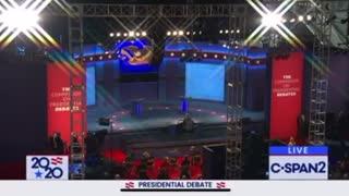 Trump Vs Biden Debate 2020 Part 1