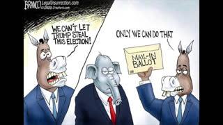 Trump Faces Corrupt Left Election 2020, Mail-in Ballot Fraud, White Privilege Delusion -Sep 8, 2020