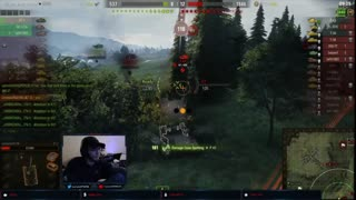 Outmanuvering a P43 in the AT 2   World of Tanks
