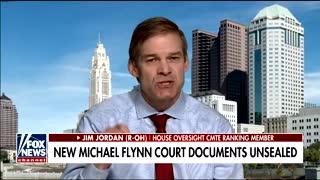 Jim Jordan responds to Flynn bombshells