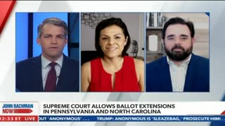 Newsmax TV: Supreme Court vs. Ballot Extensions in Battleground States