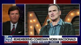Tucker Carlson pays tribute to comedic genius Norm MacDonald