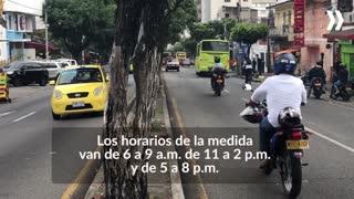 Videos pico y placa ambiental en Bucaramanga 3
