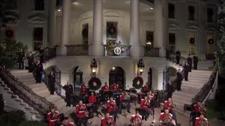 Beautiful 2020 Christmas greetings from President Trump and the beautiful First Lady, Melania Trump.