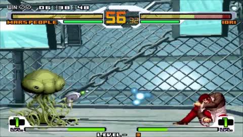 SNK vs CAPCOM CHAOS - Arcade - Mars People - Level 8