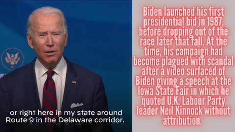 10 Things you need to know about Joe Biden