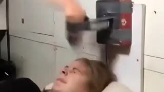 Funny Videos : New Alarm Clock!!!Who need it?... 😂😂
