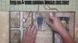 Junk Journal Folio - Genealogy