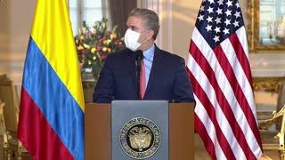 Colombia y Estados Unidos presentan plan para impulsar el crecimiento del país andino