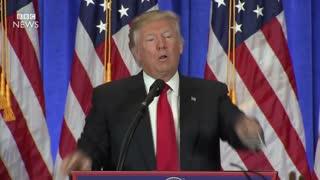 President Elect Donald Trump shuts down CNN reporter