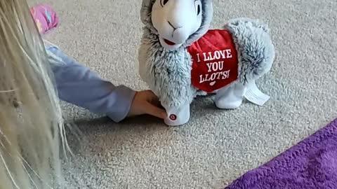 Valentine's Llama