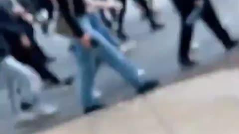 "OMINOUS: Protestors in Raleigh Shout ""Soon We Shoot Back!"""