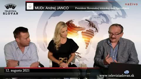 MUDr. J. Lakota, MUDr. A. Janco v TV SLOVAN