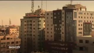 Terrorist Tower Destroyed in Gaza